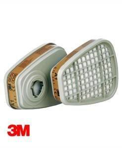 HSE 100 3M 6051 Dust Mask Filter (4 pack) | Dust Masks PPE Supplies