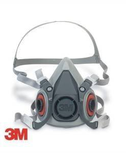 HSE 106 3M 6300 Dust Mask | Dust Masks PPE Supplies 6300 6200 6100