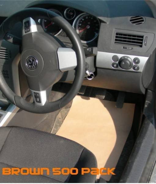 paper floor mats for cars
