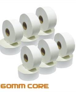PAP 700 - Mini Jumbo Toilet Rolls 150M 60mm Core 12 pack | Paper Disposables Direct