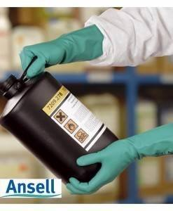 GLV 520 Ansell Solvex Nitrile Glove | Chemical Resistant Gloves Direct