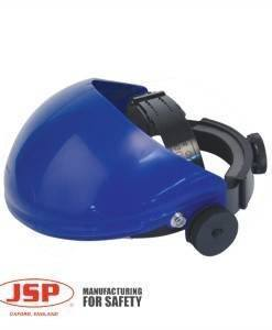 HSE 200 Browguard Blue JSP Ratchet Adjuster | PPE Supplies Direct