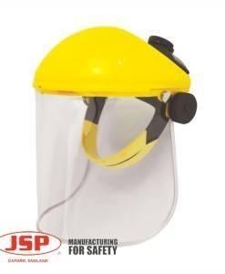 HSE 202 Face Shield Visor Polycarbonate JSP | PPE Supplies Direct