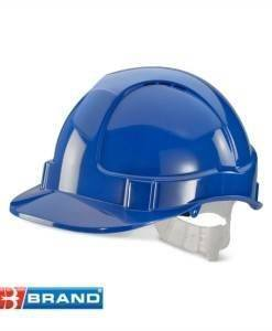 HSE 400 Blue Hard Hat | PPE Supplies Direct