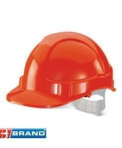 HSE 400O Orange Hard Hat | PPE Supplies Direct
