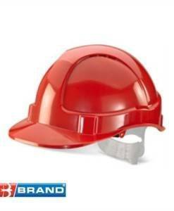 HSE 400R Red Hard Hat | PPE Supplies Direct