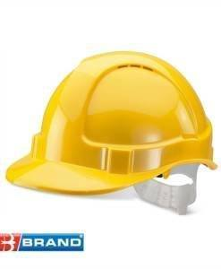 HSE 402 Yellow Hard Hat | PPE Supplies Direct