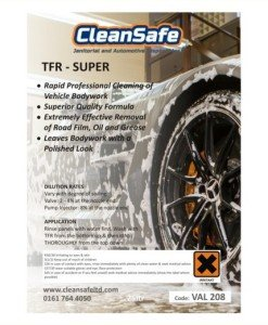 VAL 208 Traffic Film Remover, Super (25ltr) | Valeting Supplies Direct CleanSafe