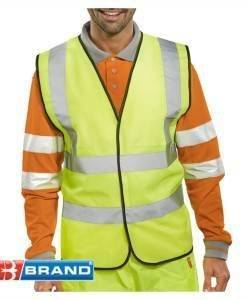 WWR 113 High Vis Vest (Full Spec) Yellow | High Visibility PPE Supplies Direct