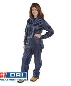WWR 416 Waterproof Suit (2 Piece) Blue | PPE Supplies Direct