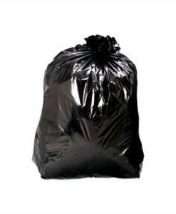 CTE 108 Bin Liners 120ltr Black | Bin Bags | Cleaning Tools Importer