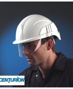 HSE 406 Centurion Vision Hard Hat Visor | PPE Supplies Direct