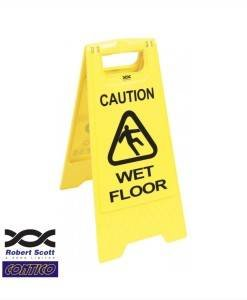 HSE 501 Wet Floor Signs | Cleaning Tools Direct