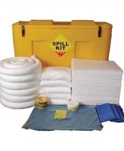 SPC 272 Oil & Fuel 250ltr Mobile Locker OSKJ | Spill Control Direct