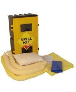 SPC 366 Chemical Spill Kit 50ltr Wall Cabinet CSKW | Spill Control Direct
