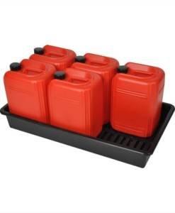 SPC 801 25ltr Drum Storage Tray 6 x 25ltr BT6/25 | Spill Control Direct