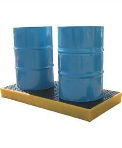 SPC 820 Drum Workfloor 2 x 205ltr BFFE2 | Spill Control Direct
