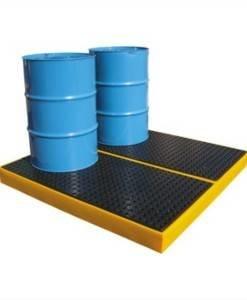 SPC 822 Drum Workfloor 4 x 205ltr BFFE4 | Spill Control Direct