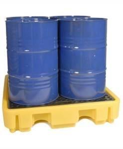 SPC 866 Spill Pallet 4 X 205ltr BPFE4 | Spill Control Direct