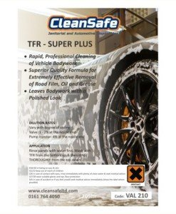 VAL 210 Traffic Film Remover 205ltr Super+ | Valeting Supplies Direct