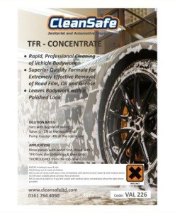 Traffic Film Remover 205ltr Concentrate Valeting Supplies Direct