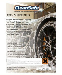 Traffic Film Remover 25ltr Super+ | Valeting Supplies Direct
