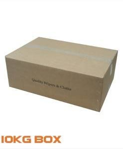 CLO 495 White Cleaning Cloths 10Kg Box