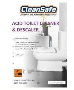CLN 655 Toilet Cleaner Descaler