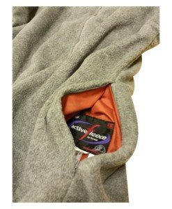Grey Fleece Work Wear Discounts