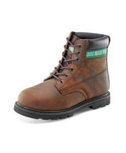 Safety Boots Brown