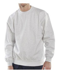 white sweatshirt - Workwear 1
