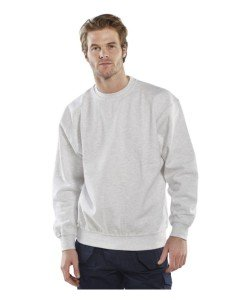 white sweatshirt - Workwear